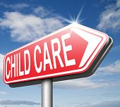 stock photo of babysitting  - child care center in daycare or cr - JPG