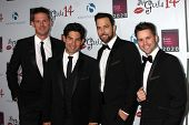 LOS ANGELES - OCT 6:  The Company Men at the Les Girls 14 at Avalon on October 6, 2014 in Los Angeles, CA