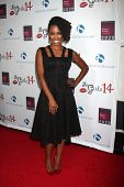 LOS ANGELES - OCT 6:  Shanola Hampton at the Les Girls 14 at Avalon on October 6, 2014 in Los Angeles, CA