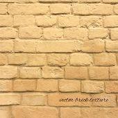 Brick Texture, Vector Illustration