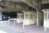 Stadium turnstile