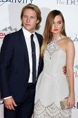 LOS ANGELES - OCT 7:  Luke Bracey, Liana Liberato at the