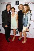 LOS ANGELES - OCT 7:  William H. Macy, Felicity Huffman, Sofia Macy, Georgia Grace Macy at the