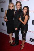 LOS ANGELES - OCT 7:  Felicity Huffman, William H Macy, Eva Longoria at the