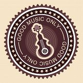 Old Fashioned Musical Label