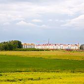 construction of suburban real estate