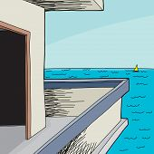 Beach House View Of Sea