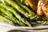 Homemade Healthy Baked Asparagus