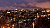 Jerusalem, Israel - night view