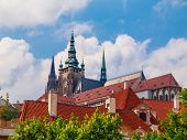 Towers of Prague Castle