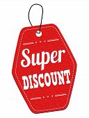 Super Discount Red Leather Label Or Price Tag