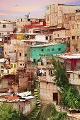 Guatemala City Shantytown Favela