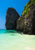Blue Seascape Heaven Cove