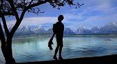 View At Garda Lake, Italy
