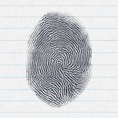 An image of a fake finger print