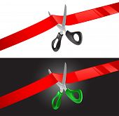 Scissors And Ribbon.eps