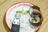 Old Thai Traditional Coconut Grater