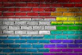 Dark Brick Wall - Lgbt Rights - Luxembourg