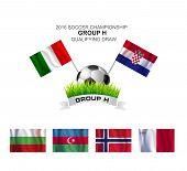 2016 Soccer Championship Group H Qualifying Draw