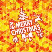 Christmas Mosaic Pattern