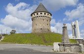 stock photo of brest  - Historical Tanguy tower  - JPG
