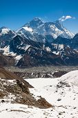 The Highest Mountain In The World - Everest. View From Renjo Pass