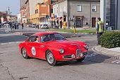Vintage Alfa Romeo 1900 Ssz Zagato (1957)