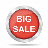 Big Sale Bag Sign Icon. Special Offer Symbol
