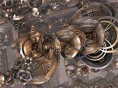 Computer rendered virtual scenery