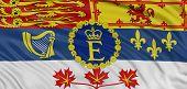 3D Canada royal standard Flag