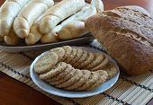Wholemeal Bread, Rolls And Biscuits