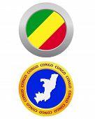 Button As A Symbol Congo
