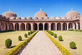 stock photo of masjid  - Jama Masjid in Mandu Madhya Pradesh India - JPG
