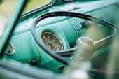 Vehicle Interior Vintage Car