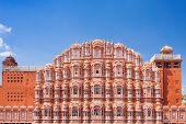 pic of palace  - Hawa Mahal palace  - JPG