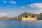 stock photo of palace  - Jal Mahal  - JPG