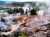 Artists' Paintpots in Yellowstone National Park