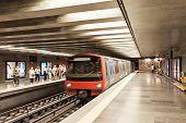 Subway In Lisbon