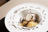 Dessert With Ice Cream
