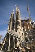 The Sagrada Famila Cathedral