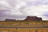 The Scenic Road To Monument Valley