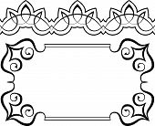 Set Of Frames And Borders. Elements For Design