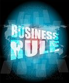 Business Rule Interface Hi Technology