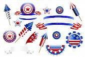 U.S. decoration elements