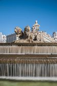 picture of ceres  - The fountain of Cibeles named after Cybele  - JPG