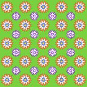 Spring Decorative Background With Flowers