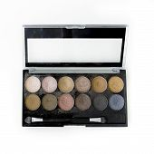 Make-up, Colorful Eye Shadows Palette