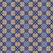 Seamless Pattern With Geometrical Motif