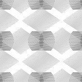 monochrome zigzag seamless