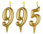 Candles Number Nine Hundred Ninety-five